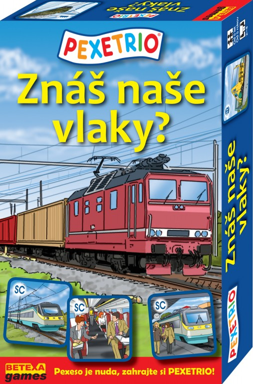 Znáš naše vlaky ?