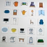 Mini kartičky - Věci v domě