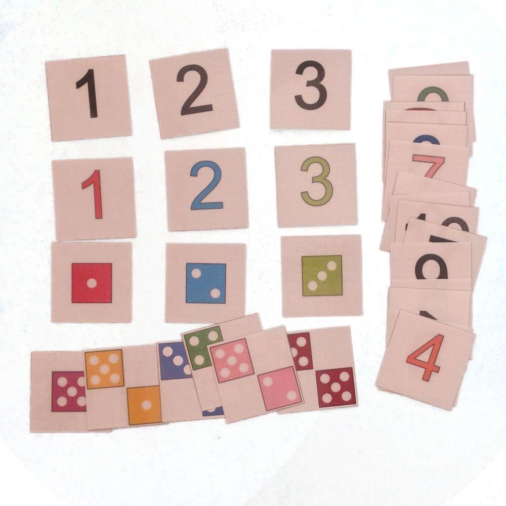 Čísla a kostky
